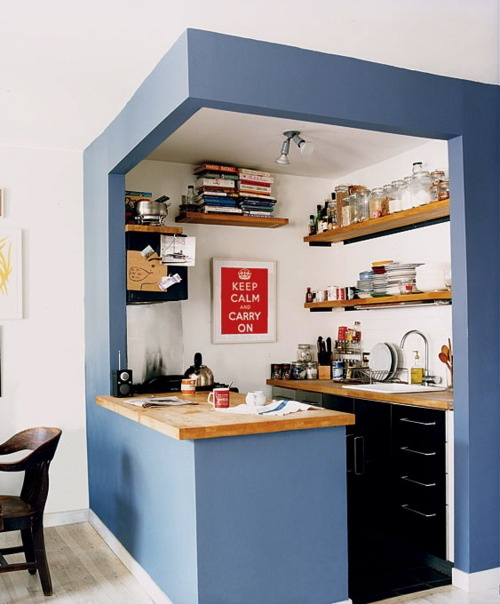 Small Kitchen Design Tips Use Your Height